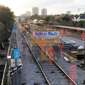 Time Lapse West Ham Rail Works